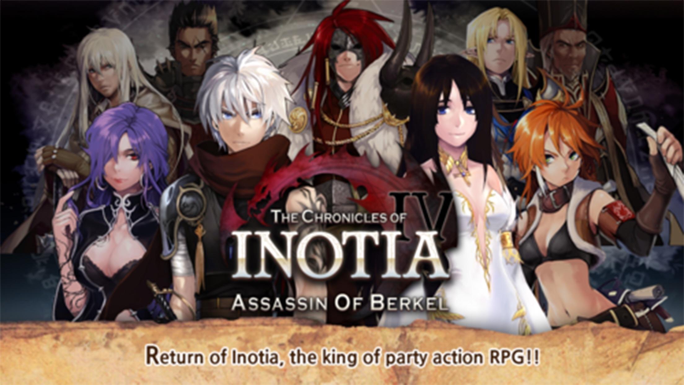 Inotia 4 PLUS Screenshot