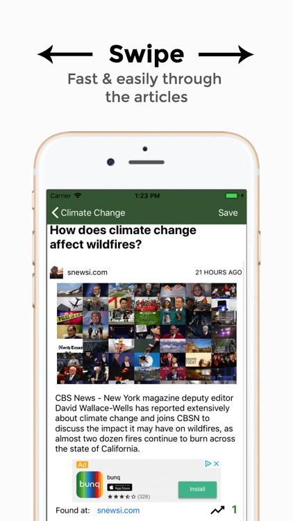 Sustainability News screenshot-3