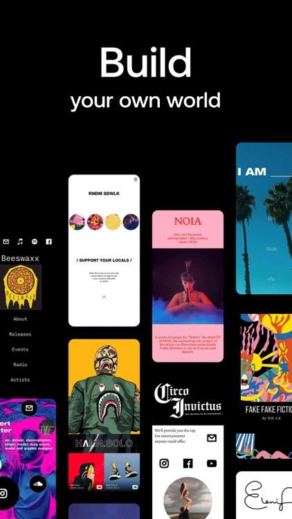 Universe — Website Builder screenshot-5