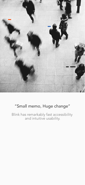 ‎Blink - Quick Memo Screenshot