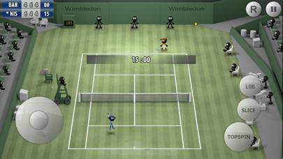 Stickman Tennis - Career ScreenShot0