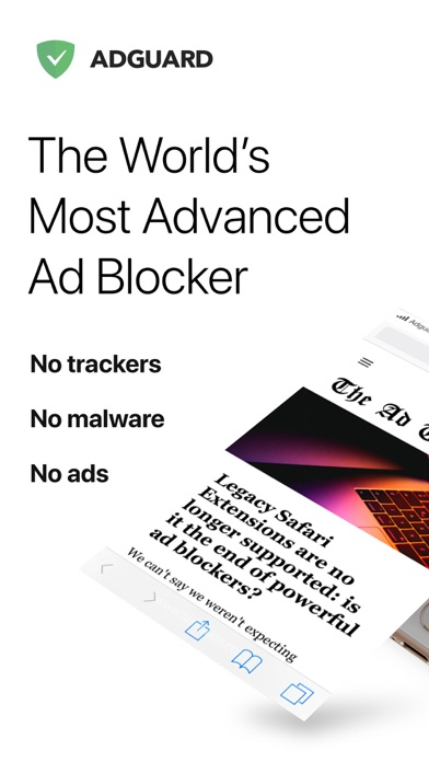 Top 10 Apps like AdGuard Pro — adblock for iPhone & iPad
