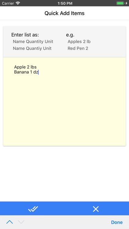 Anywhere Shopping List screenshot-3
