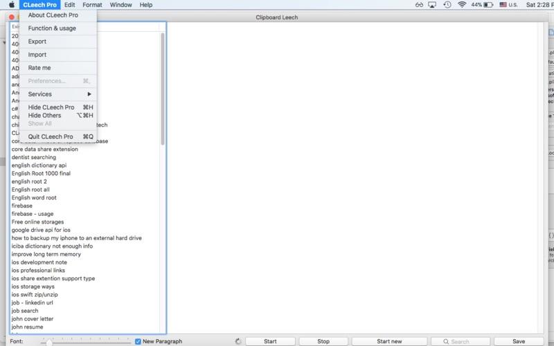Clipboard Leech скриншот программы 3