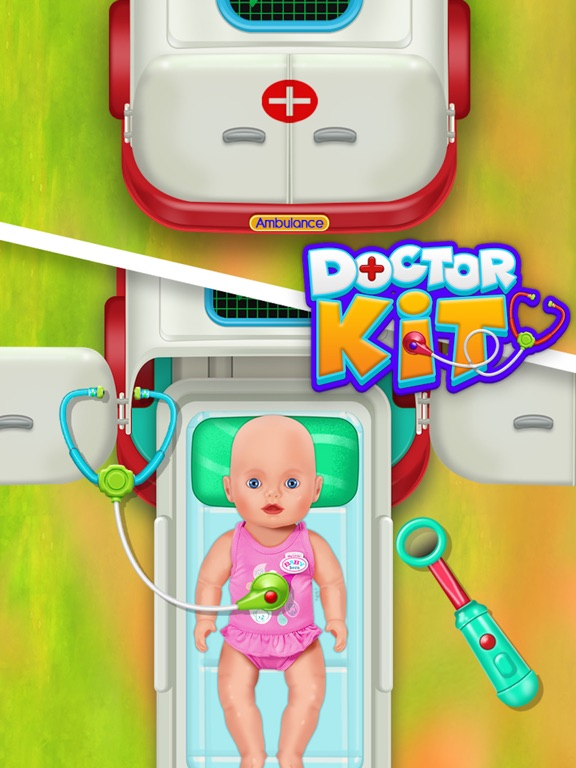 Doctor kit toys - Doctor Game screenshot 10