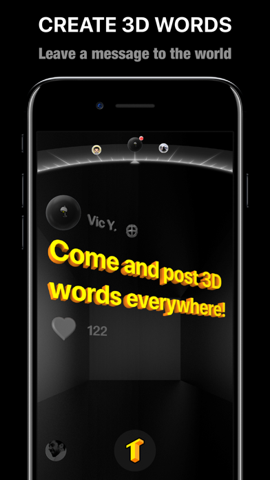 TextHere – AR posts everywhere Screenshots