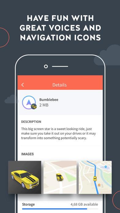 Screenshot for Karta GPS Navigation & Traffic in United States App Store