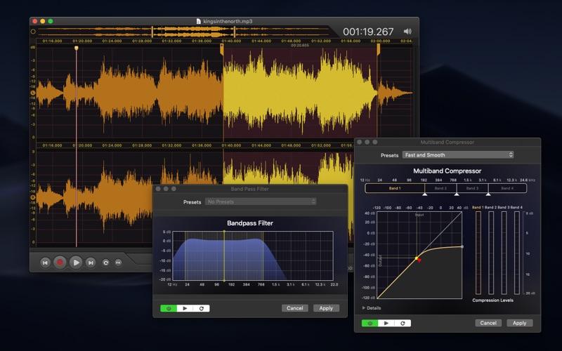 Vector 3 Express: Audio Editor скриншот программы 2