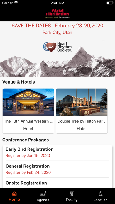 WesternAF Symposium screenshot 1