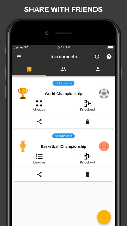 Winner - Tournament Maker App screenshot-4