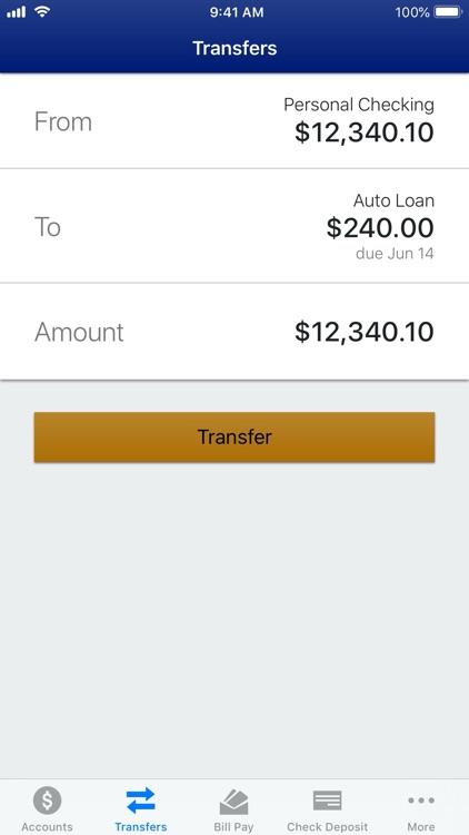 Arizona Federal Mobile Banking screenshot-3