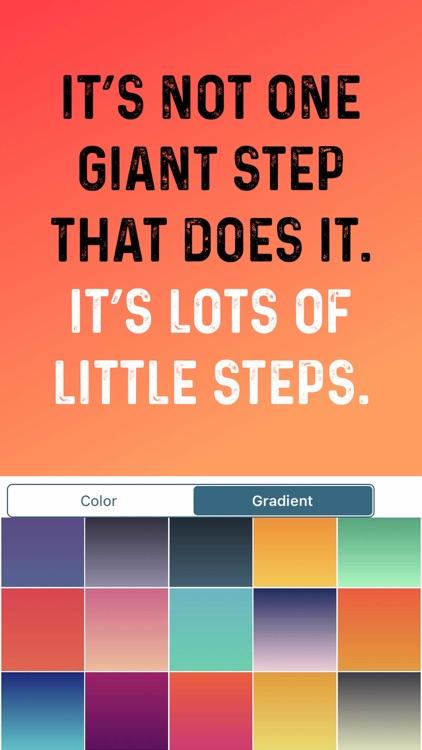 Quotes Creator Pro -Motivation screenshot-4