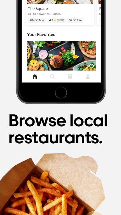 messages.download Uber Eats: Food Delivery software