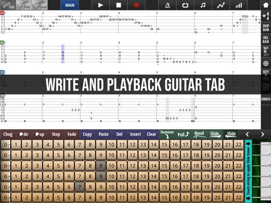 Jam Maestro: create guitar tab