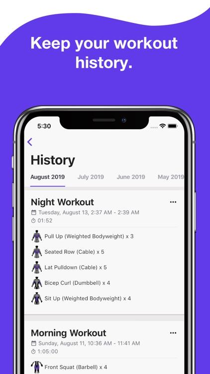 Liftify - Workout Gym Tracker screenshot-5