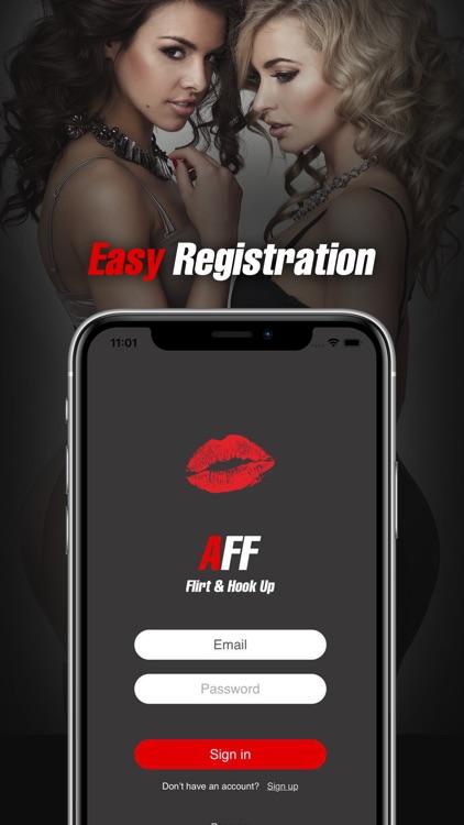 AFF - Flirt & Hook Up