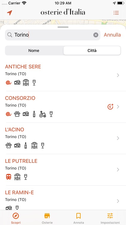 Osterie d'Italia 2020 screenshot-1