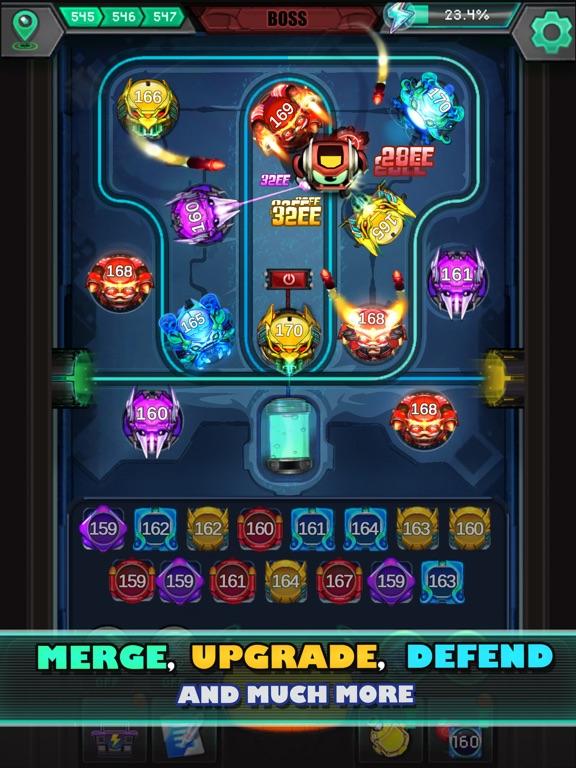 Cybershock : TD Idle & Merge screenshot 8