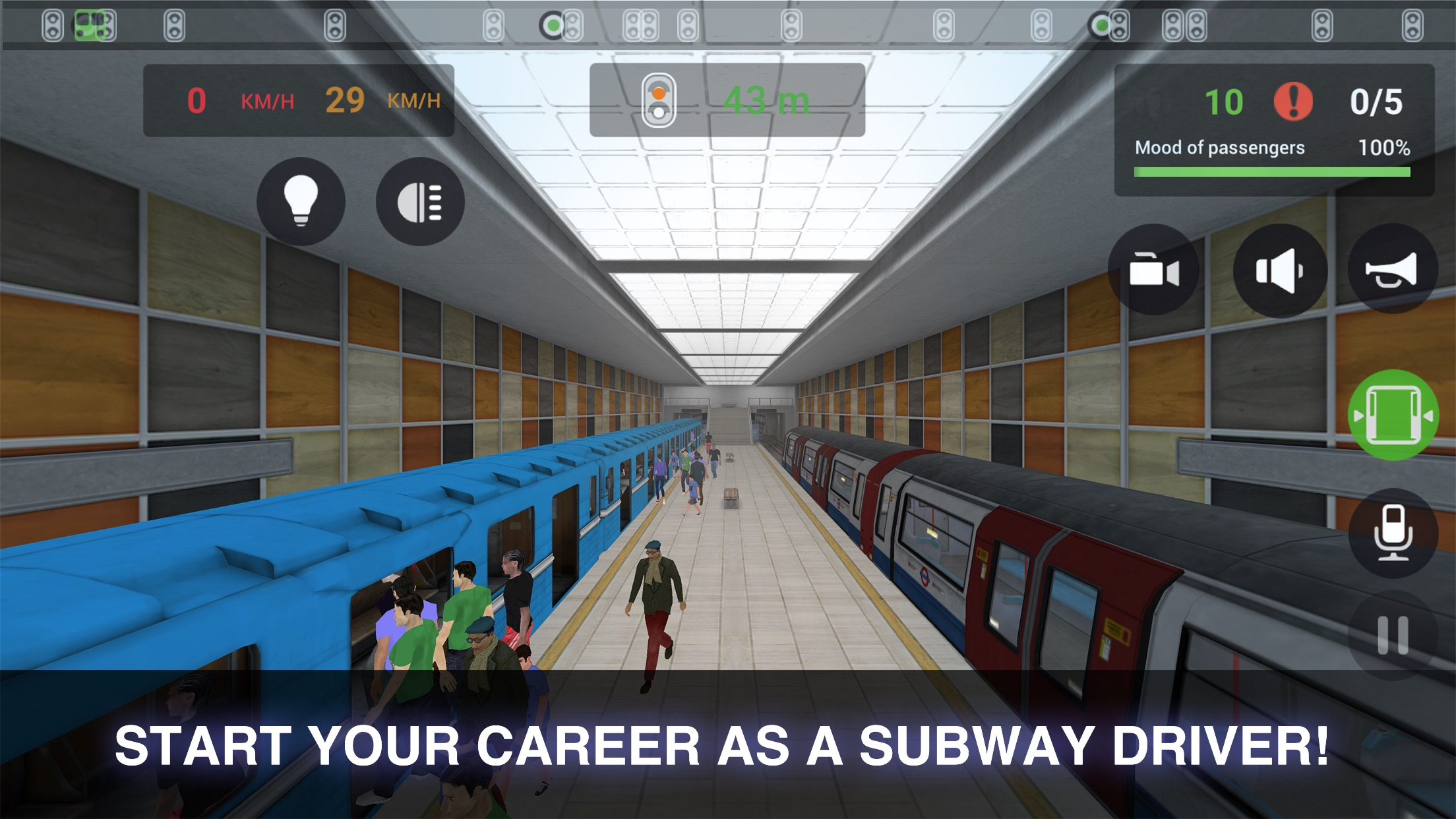 Subway Simulator 3D Screenshot