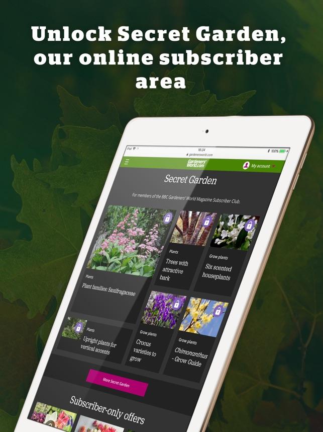 BBC Gardeners' World Magazine on the App Store