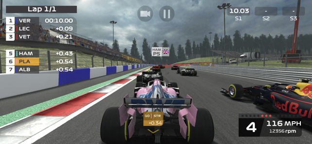 ‎F1 Mobile Racing Screenshot