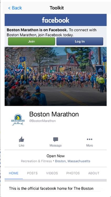 Marathon Map for Boston screenshot-3