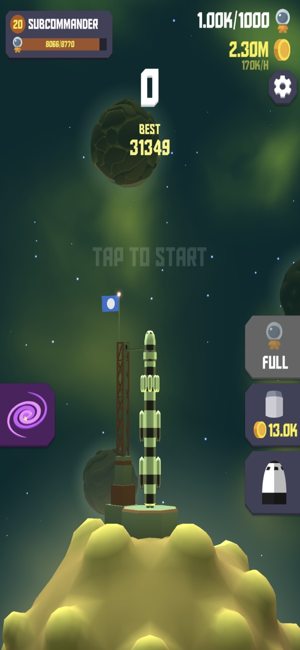 Space Frontier 2 Cheat Codes