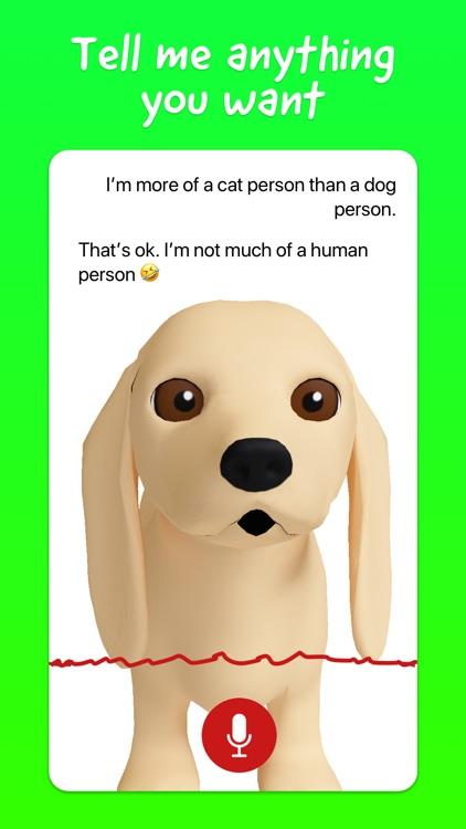 Talking Dog, the savage AI pet