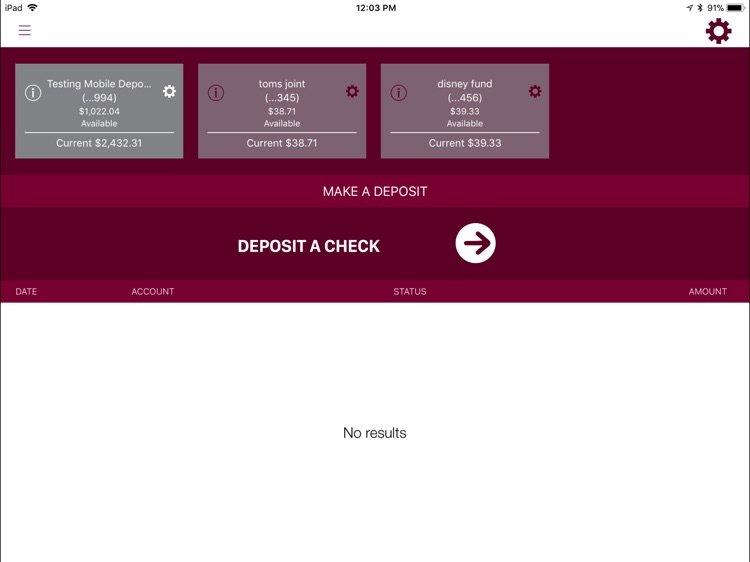 Bank Midwest for iPad screenshot-3