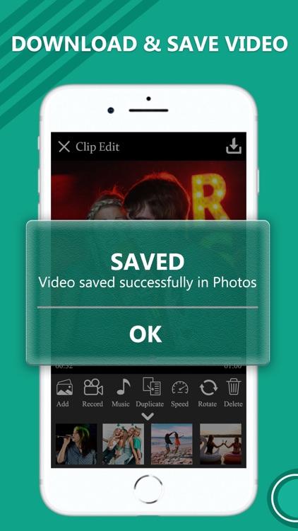 Merge Easy Video Editor screenshot-3