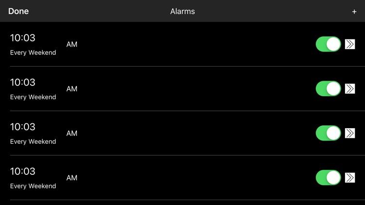 Digital Alarm Clock - Simple