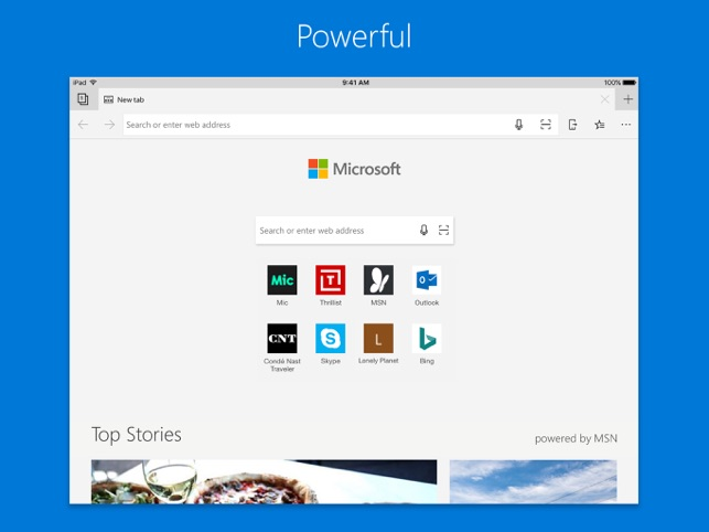 Microsoft Edge Screenshot