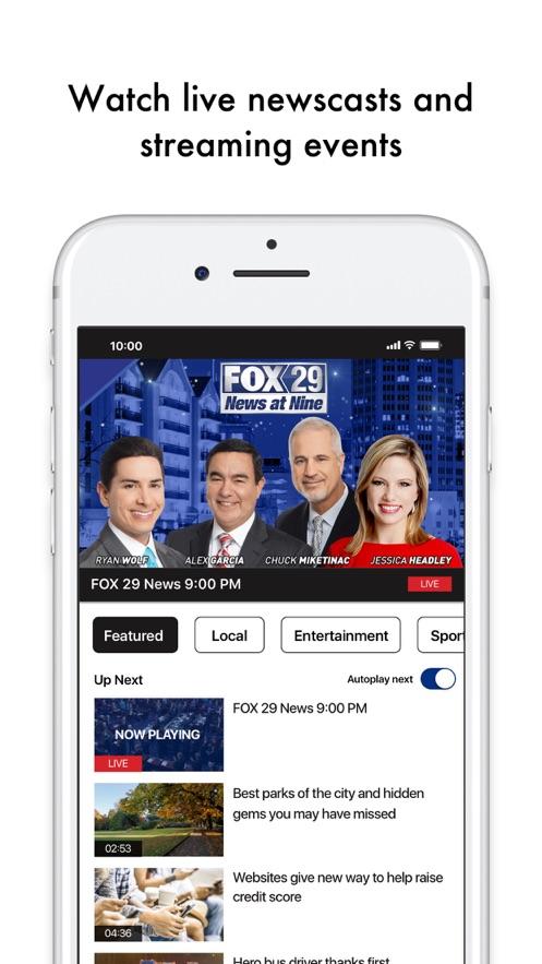 KABB FOX29】版本记录- iOS App版本更新记录 版本号 更新时间