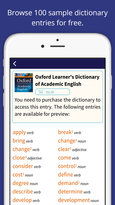 messages.download Oxford Learner's Academic Dict software