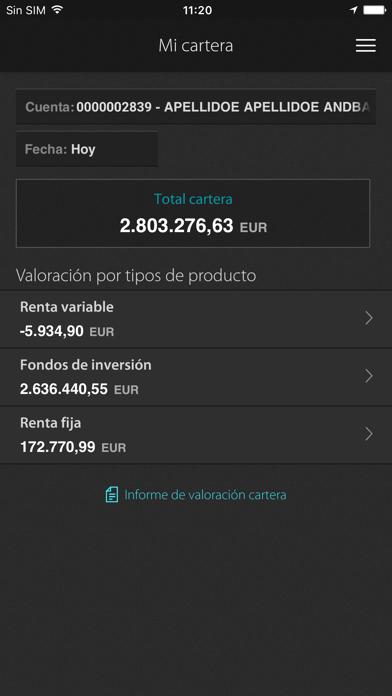 Inversis screenshot two