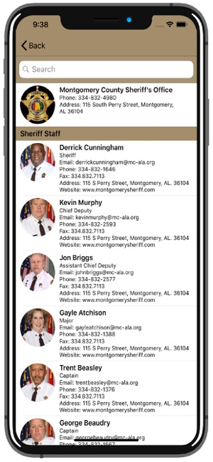 Montgomery County AL Sheriff on the App Store