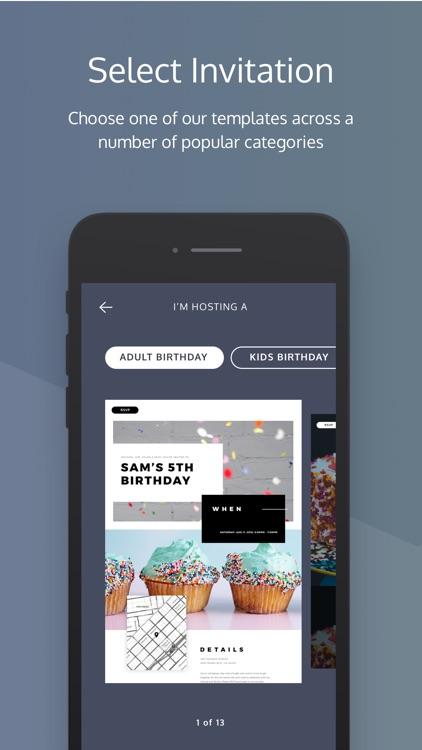 Poply: Virtual Invites Online