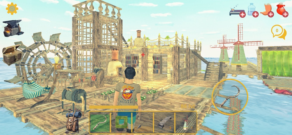 Raft Survival Multiplayer Cheat Codes