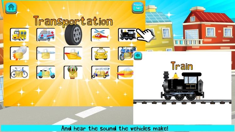 Car Games For Toddlers FULL screenshot-4