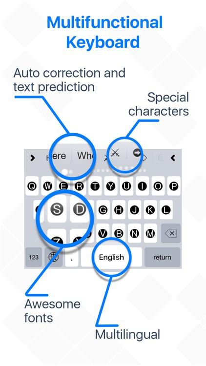 Keyboard Characters & Symbols