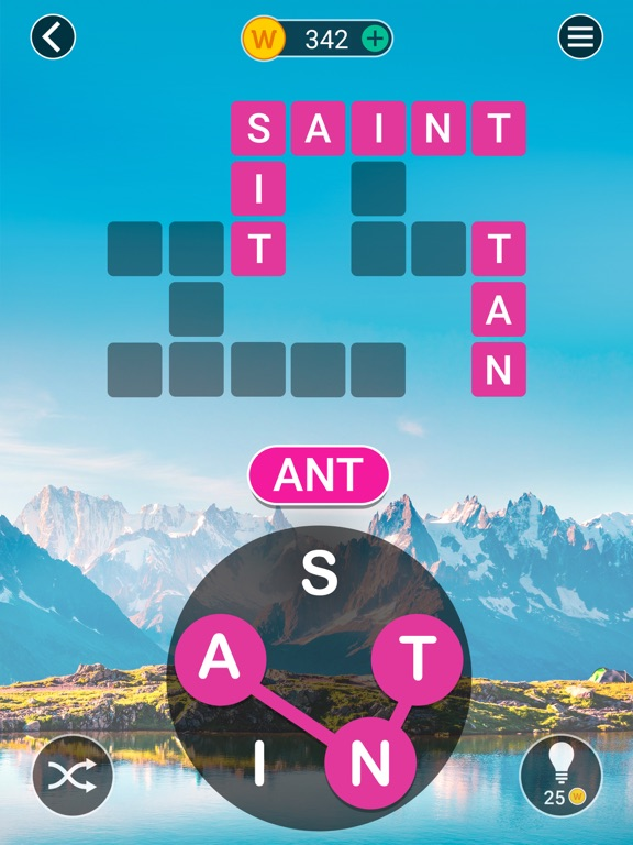 Crossword Jam: Fun Brain Game screenshot