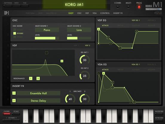 KORG iM1 Screenshots