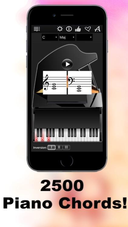 Piano Chords Compass LR screenshot-0