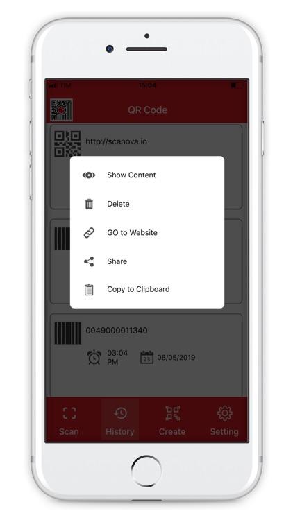 QR Generator - Barcode scanner screenshot-5