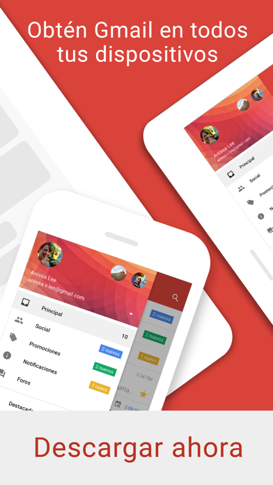 Descargar Gmail: El correo de Google para Android