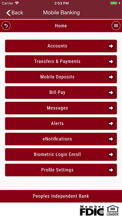 PIB Mobile Banking screenshot-2