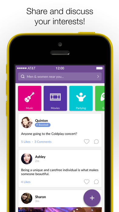 MeetMe - Go Live, Chat & Meet app image