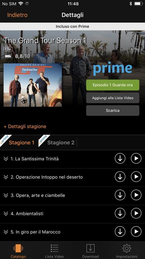 Amazon Prime Video App 截图