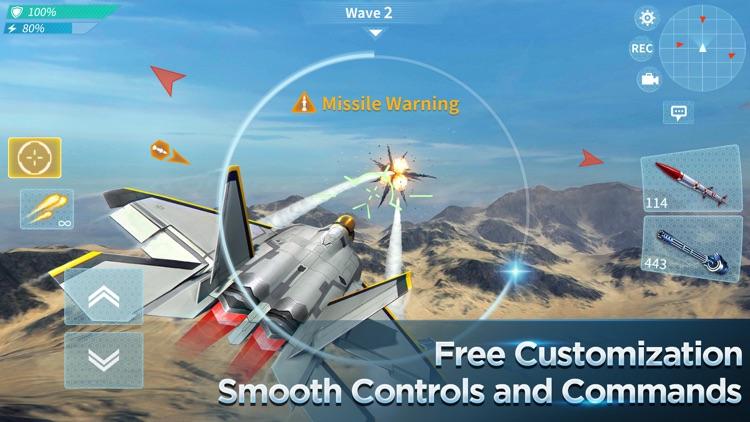 Air Combat OL: Team Match screenshot-3