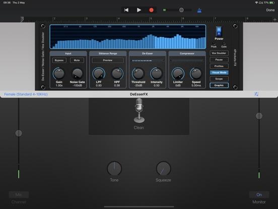 De-Esser AUv3 Audio Plugin screenshot 11